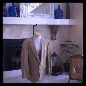 Other - Tan Men's sport coat. Size: 42 Made in U.S.A